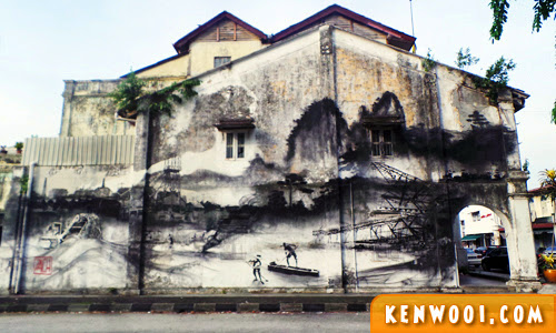 ipoh wall art mural evolution
