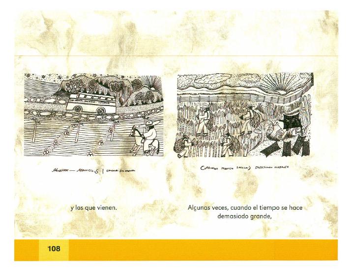 Mi pueblo se llama San Agustín español lecturas 2do bloque 5/2014-2015