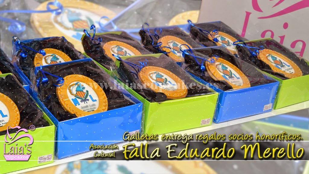 Galletas de fondant Laia's Cupcakes. Puerto de Sagunto.