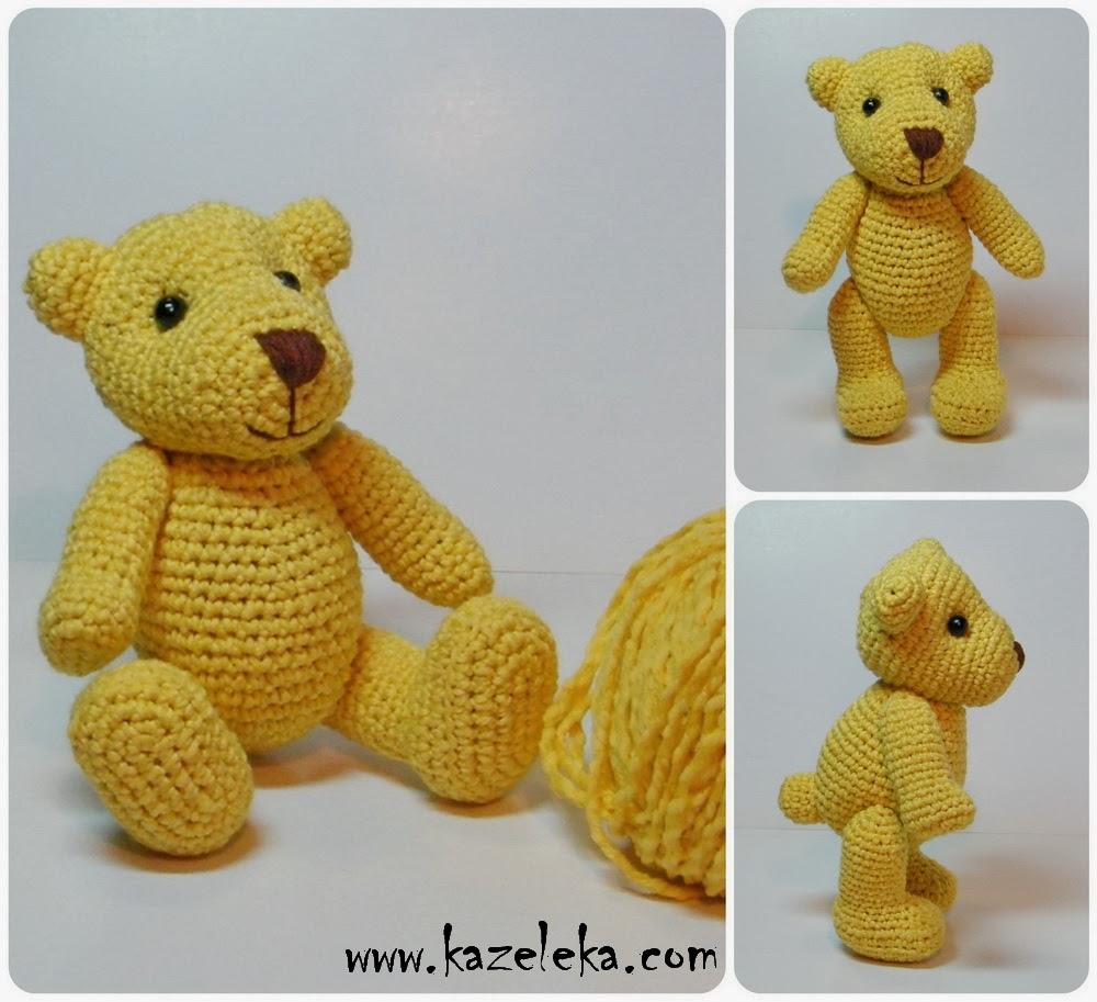 вязаный мишка - crochet bear