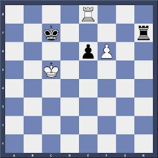 Echecs & Finale : Les Blancs gagnent en 4 coups - Niveau Moyen