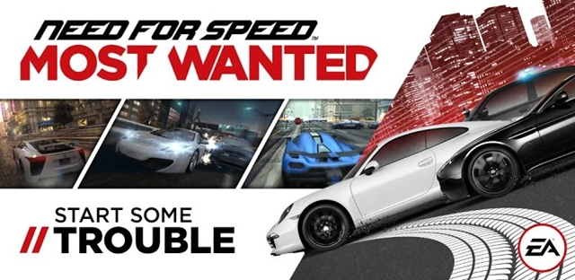 Need for Speed Most Wanted Android App Unnamed