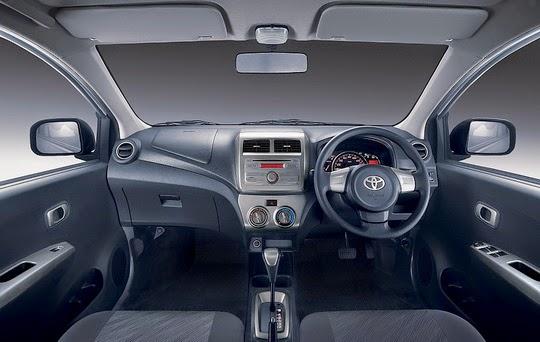 Interior Toyota Agya Tipe E G Trd S Manual Matic Baru
