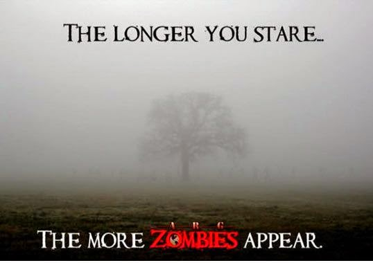 The Longer You Stare The More Zombies Appear