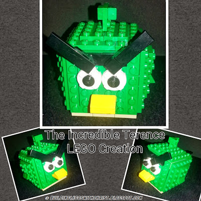 Angry Birds Space, The Incredible Terence made out of LEGOS