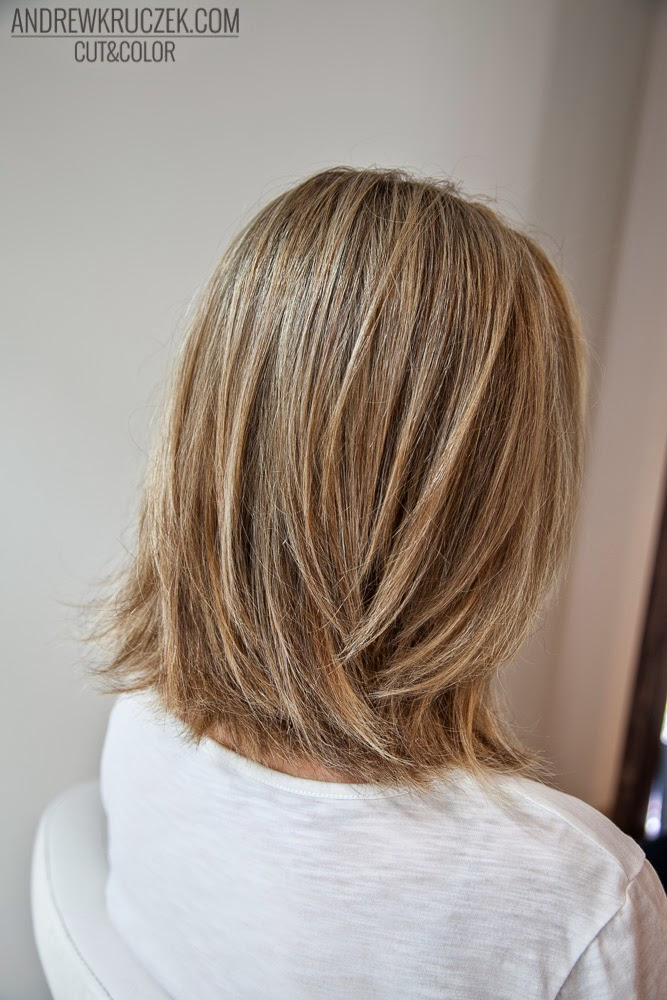 Andrzej Kruczek Cut and Color: Blonde baleyage at KHCsalon