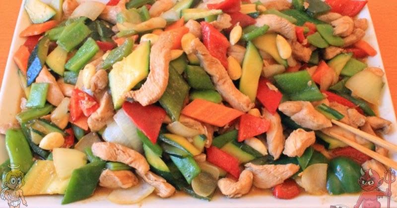 Pollo con almendras adelgazar sin hacer dietas - Pollo con almendras facil ...