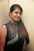 Model Shehnaaz Glam pics in saree-thumbnail-10
