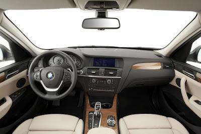 2014 BMW X3 SUV Interior