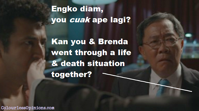Patrick Teoh & Ghafir Akbar in Cuak movie still meme