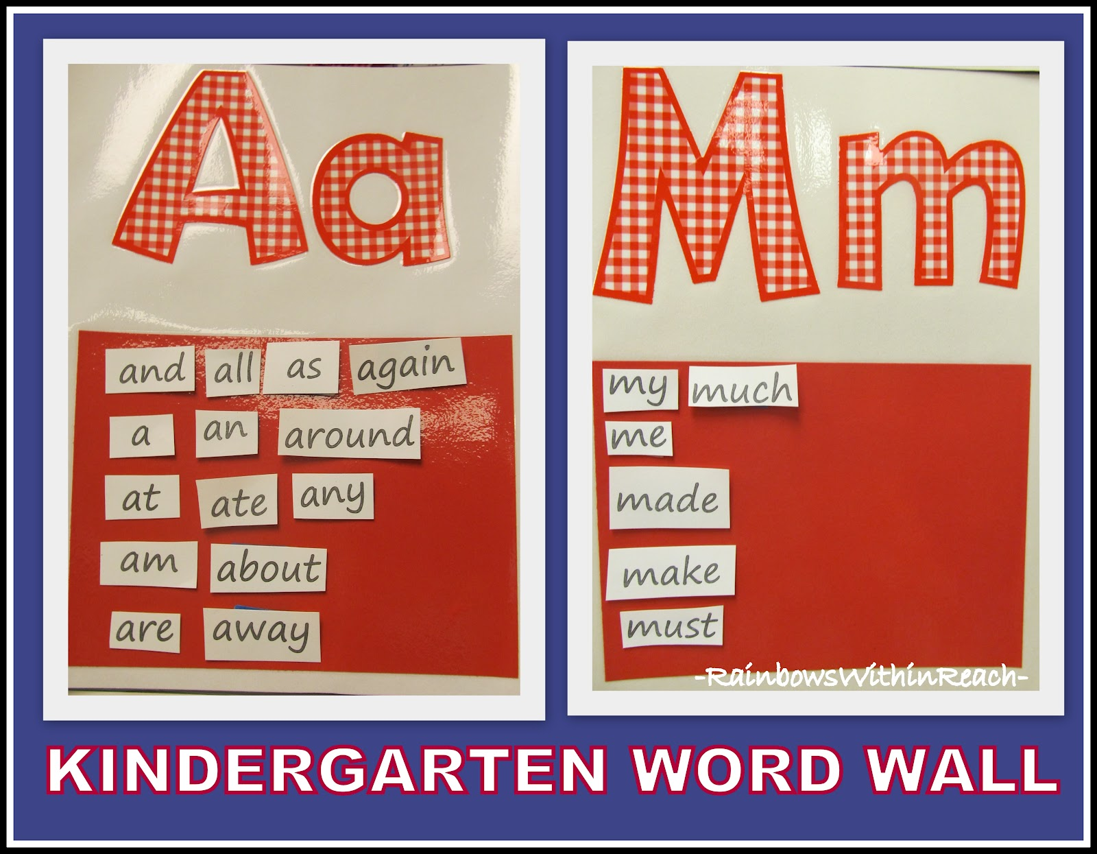 how to create a word wall in the classroom