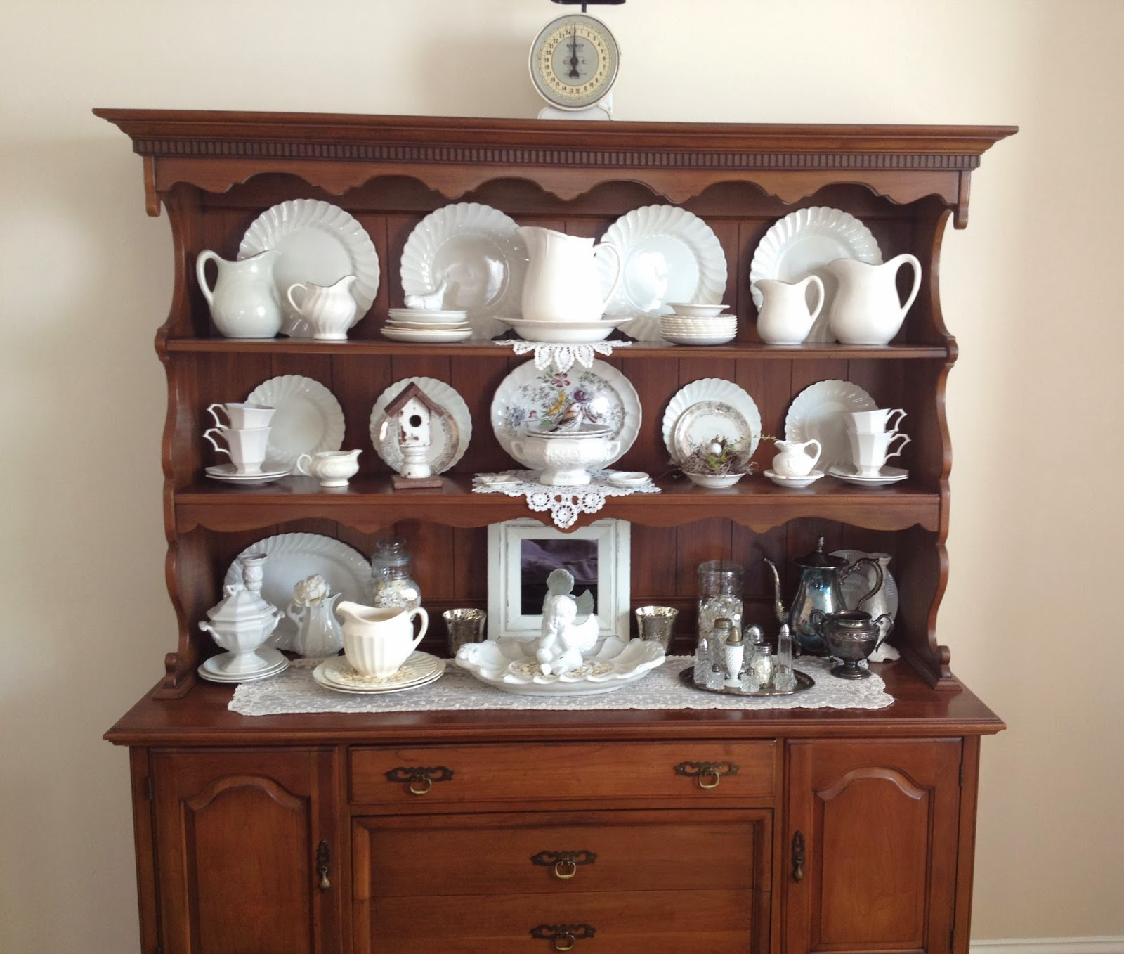 Tattered Treasures My Craigs List China Hutch