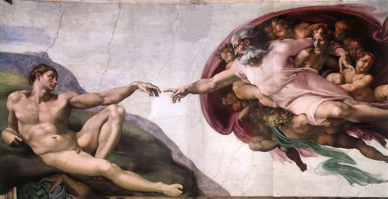 Como seria si Adan y Eva no hubiesen pecado.(humor)