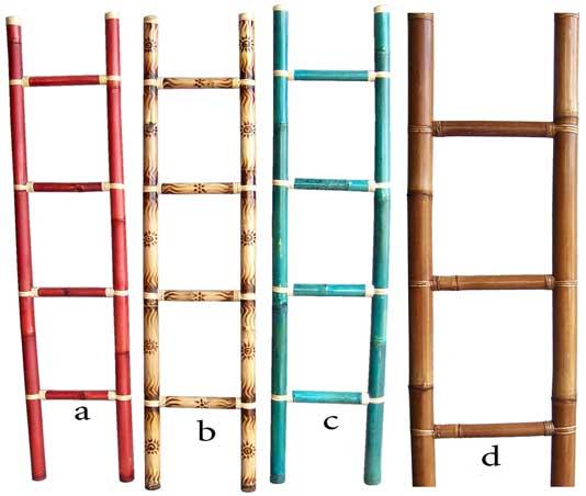 Bamboo Lamp Photo: Bamboo Ladder