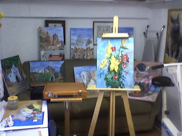 Artista bu olera mi estudio y guardo tesoros y momentos - Donde estudiar pintura ...