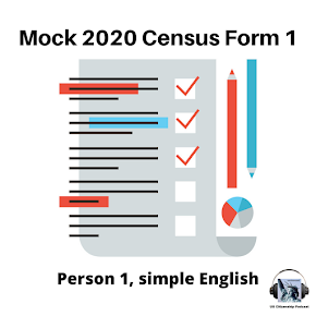Practice for the Census 1