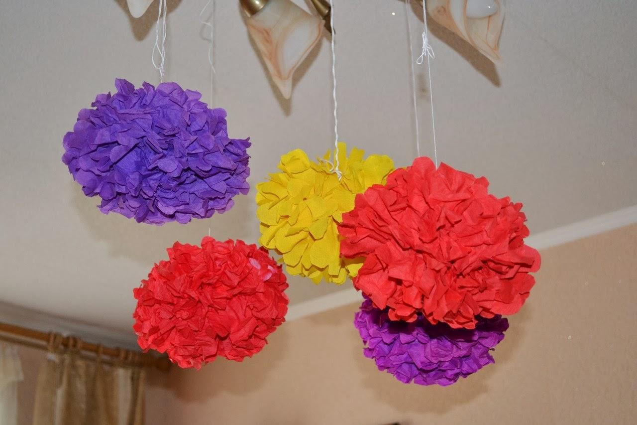 Бумажные украшения для праздника своими руками фото