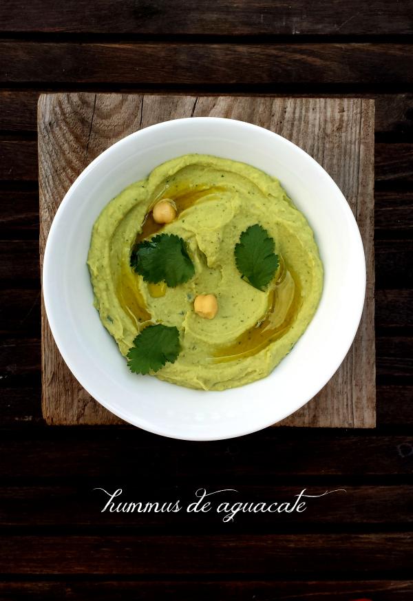 hummus, aguacate, hummus de aguacate, avocado, avocado hummus, receta, recipe