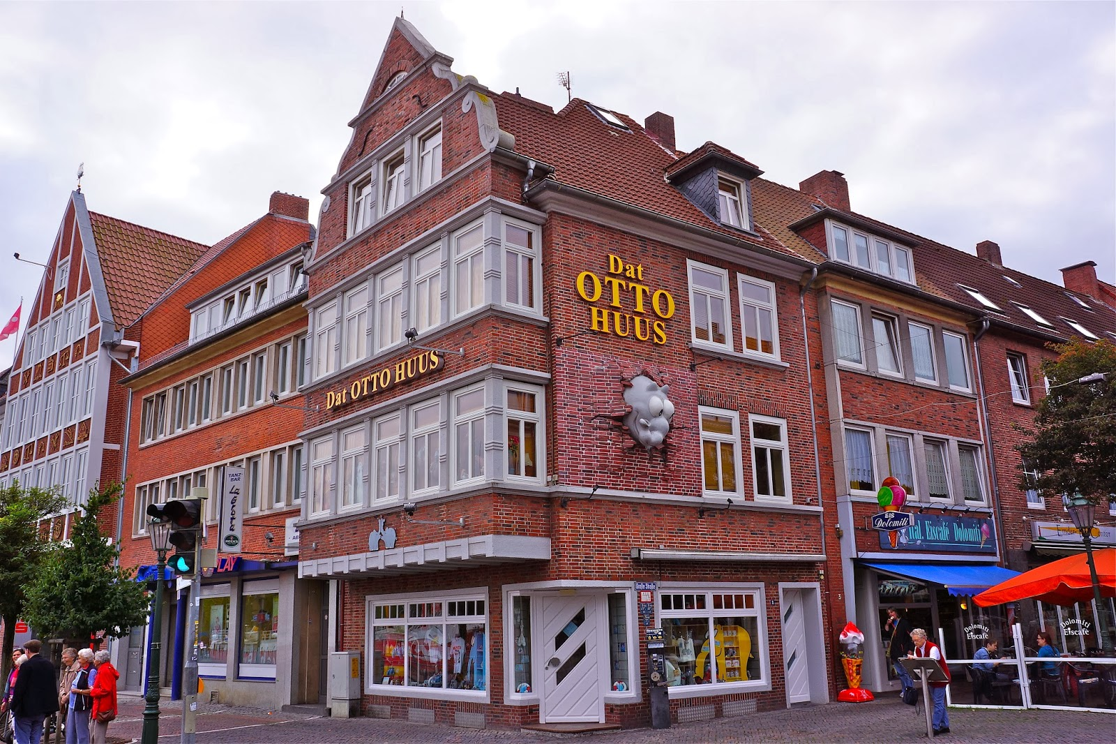 Picture of Dat Otto Huus in Emden, Germany.
