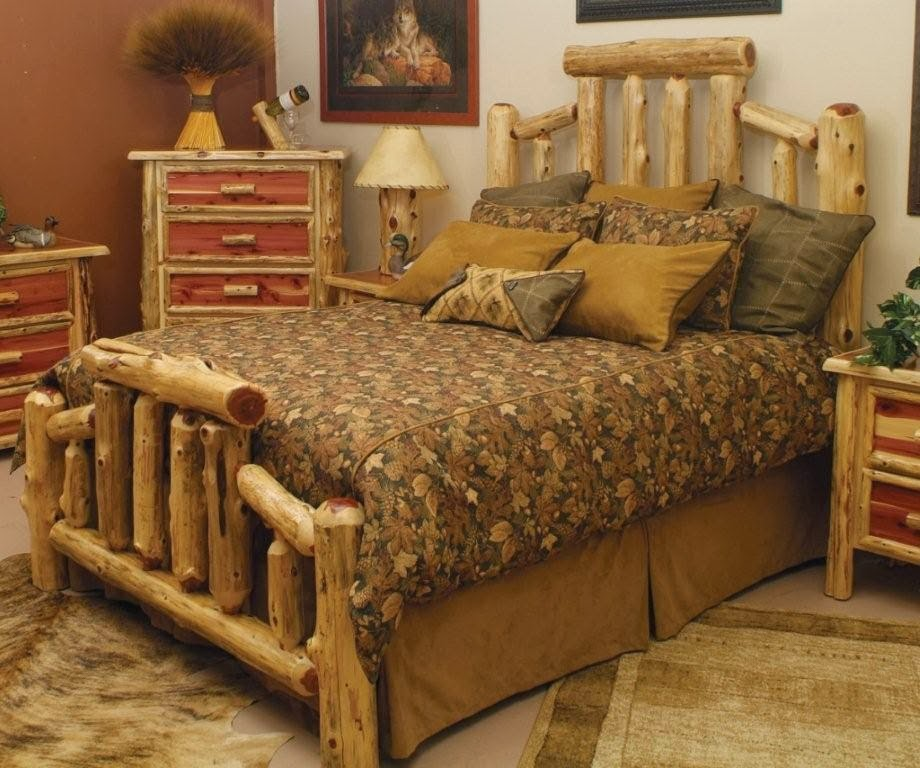 kitchen remodeling: Log Furniture Beds