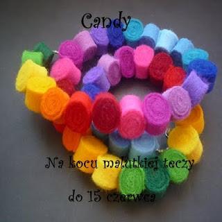 candy tęczowe