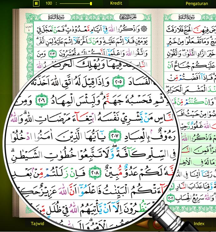 Al-Kalam dengan Kaca Pembesar