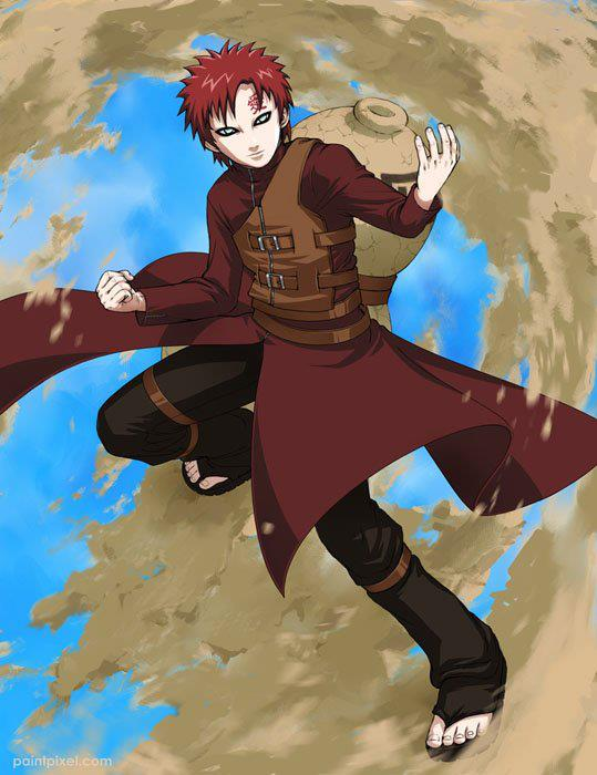 Naruto shippuden wallpapers: Fifth Kazekage (Gaara)