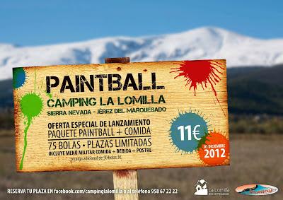 Paintball en Sierra Nevada Jérez del Marquesado Guadix y Comarca