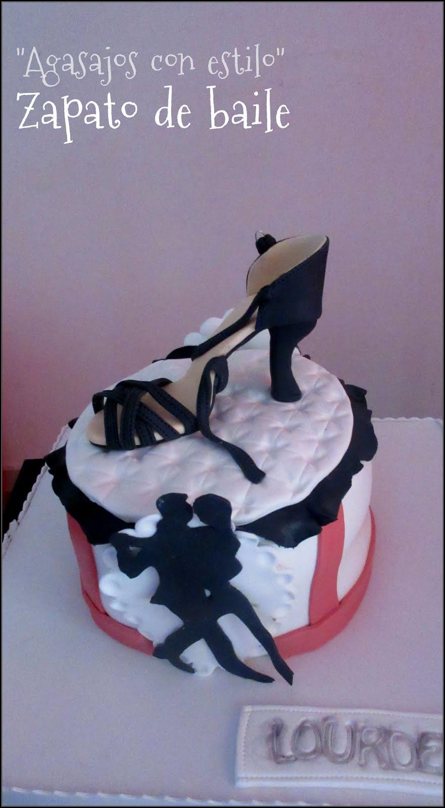 Tarta zapato de baile