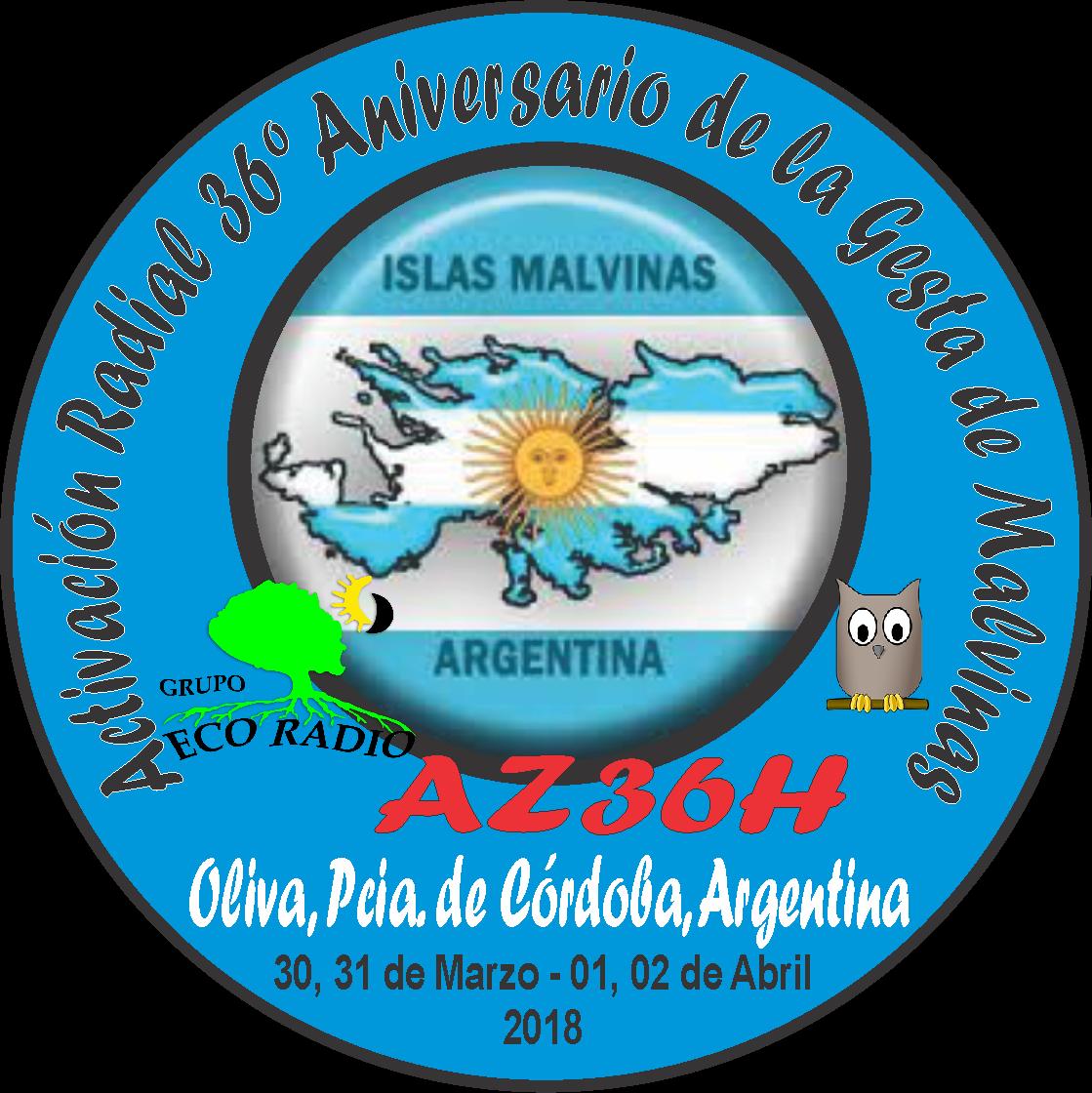PIN Actividad Radial 36º Aniversaio de la Gesta de Malvinas