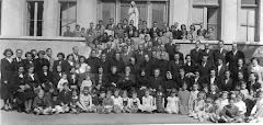 1947: la familia Barros conmemora  el centenario del nacimiento de la abuelita Ludmila Errázuriz
