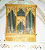 L'orgue de la Parroquia de Sant Feliu