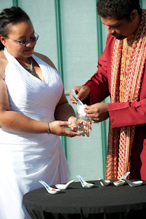 Spice Ceremony at Manoj and Tameka's wedding