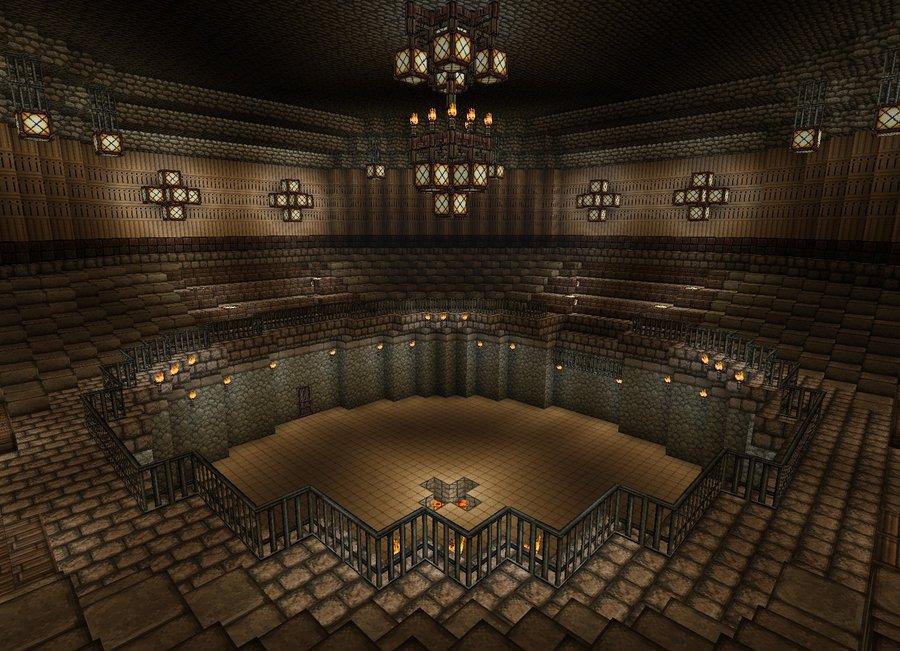 [UnderGrounde Base] Arena Pvp_arena__minecraft