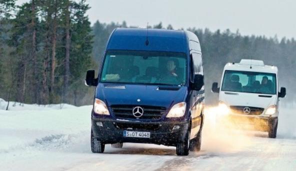 Mercedes-Benz Sprinter с семиступенчатой КПП 7G-Tronic