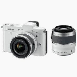 Flipkart : Nikon 1 V1 Mirrorless Camera with 10-30 mm & 30-110 mm Lenses + Bag + 8gb Card worth Rs 48950 at Rs. 29370