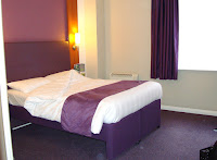 Premier Inn room, County Hall, London