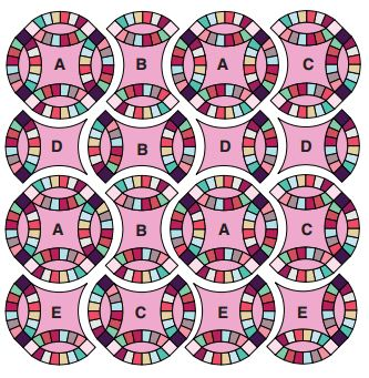 wedding ring quilt pattern wedding ring quilt pattern free