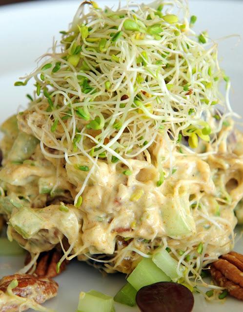 coronation chicken salad serves 6 6 chicken breasts 1 tbsp mild curry ...