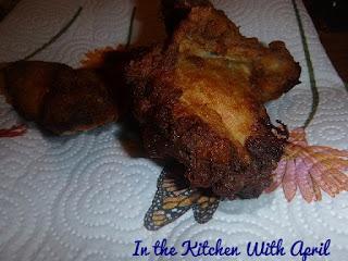 turkish style yogurt marinated chicken fried southern style
