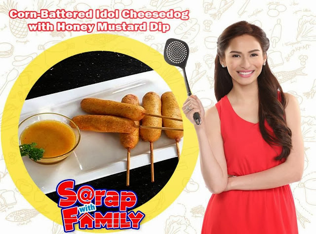 Corn-Battered CDO Idol Cheesedog with Honey Mustard Dip Recipe