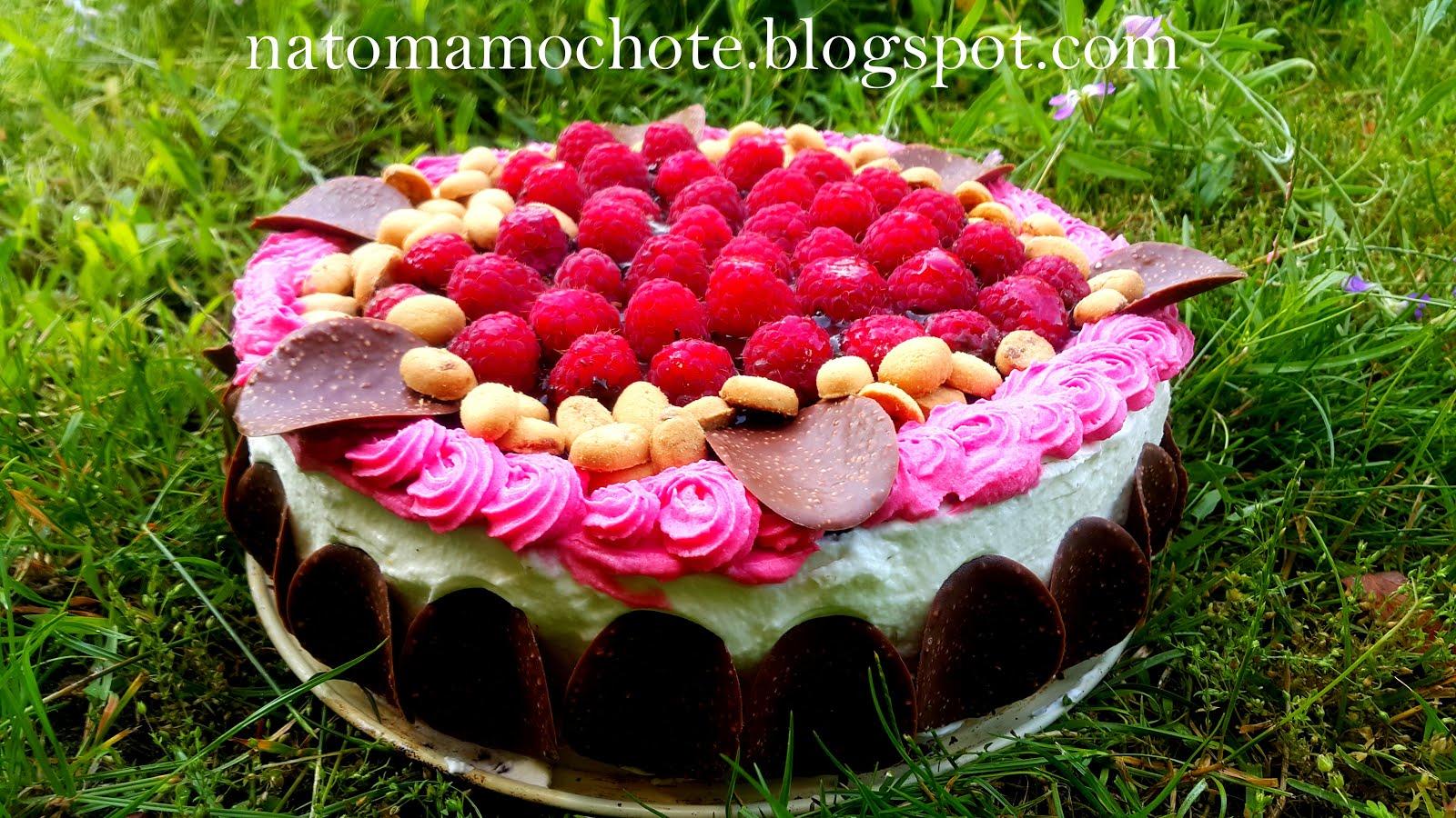 Czekoladowy Tort Rocher z Malinami