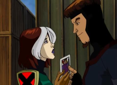 Rogue And Gambit X Men...