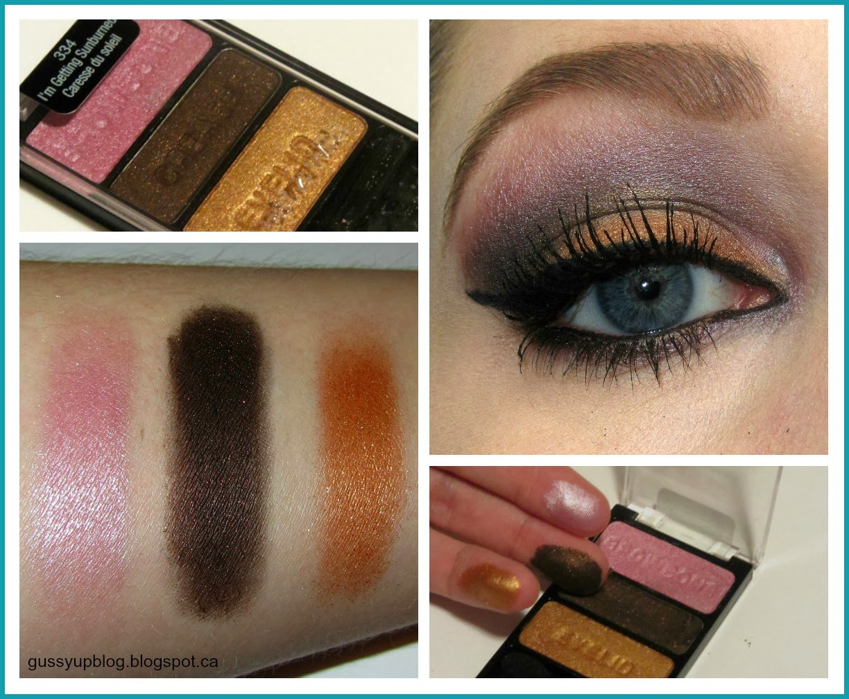 Review and Swatch: Wet N' Wild Color Icon Trio, No. 334 I'm Getting Sunburned