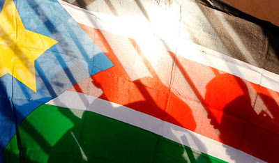 la proxima guerra sudan del sur bandera
