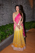 kajal agarwal photos in half saree-thumbnail-4