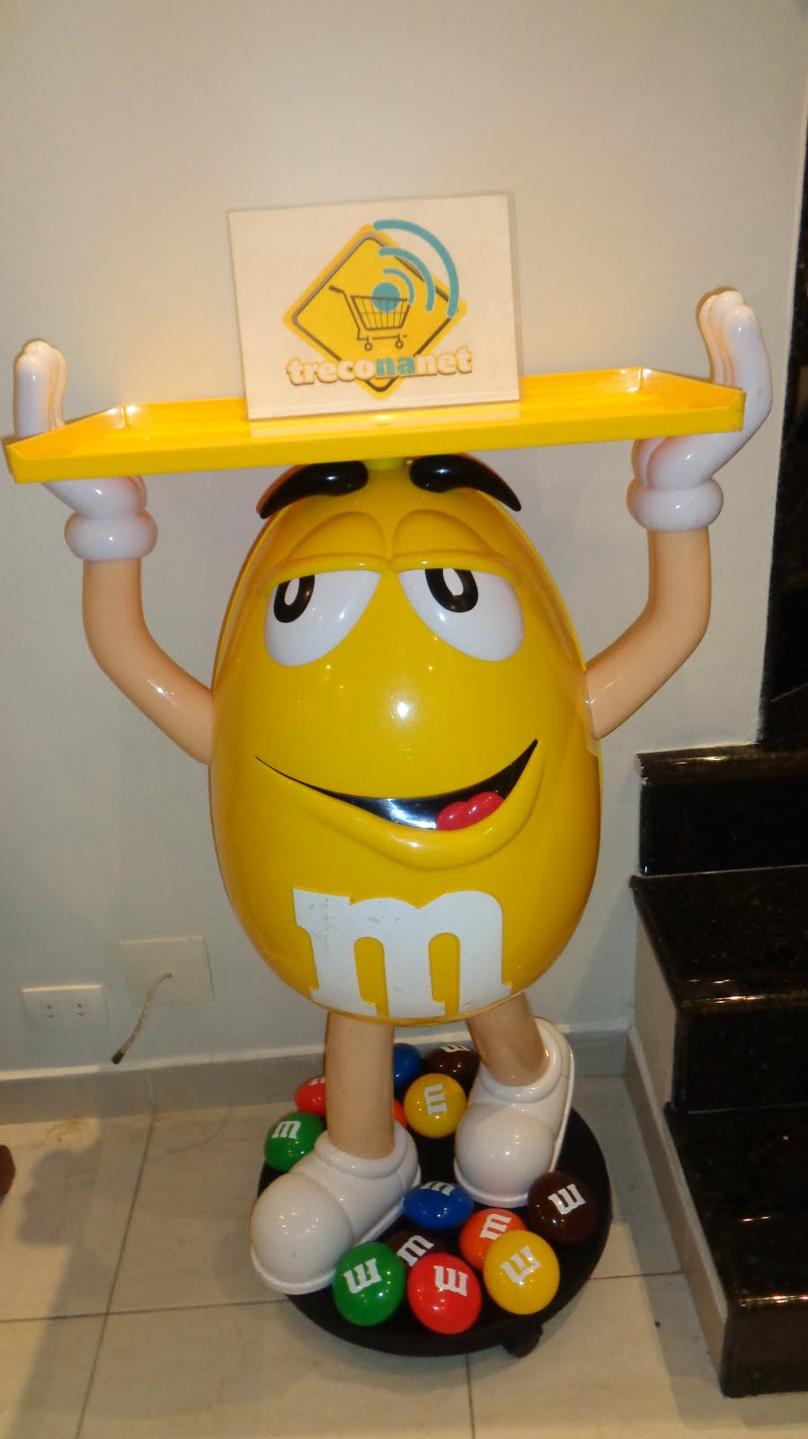 M&M´s Simbolo do Treco Na Net