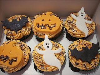 Cupcakes for Halloween, Part 1