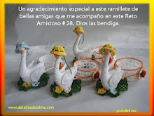 RAMILLETES DE BELLAS AMIGAS UNIDAS TEJIENDO RETOS AMISTOSOS