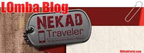Lomba blog Nekad Traveler